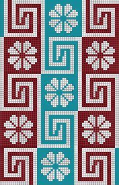 Wayuu Mochila chart by lucy Tapestry Crochet Patterns, Bead Loom Patterns, Beading Patterns, Cross Stitch Borders, Cross Stitching, Cross Stitch Patterns, Crochet Chart, Knit Or Crochet, Knitting Charts