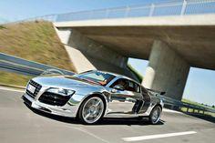 Audi R8 chrom