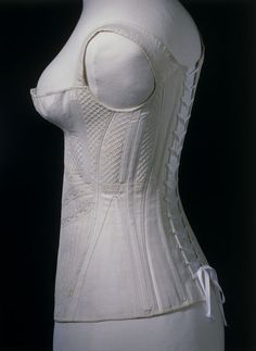 1825-35 Corset   V Search the Collections