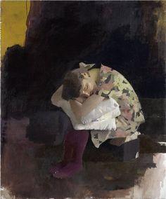 "Diarmuid Kelley ""ENGLAND IS MINE"", 2010 oil on linen 122 x 102 cm"
