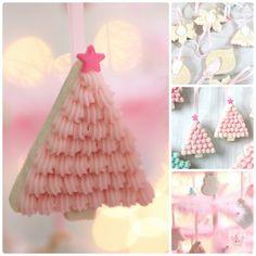 DIY Edible Christmas Tree Cookie Ornaments