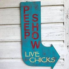 Chicken Coop - For the chicken lover, or just anyone with a sense of humor! This cool, unique piece is hand painted and hand weathered to create an awesome look Chicken Coop Decor, Chicken Coop Signs, Chicken Coup, Chicken Humor, Building A Chicken Coop, Chicken Ideas, Chicken Life, Chicken Houses, Chicken Cottage