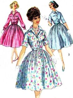 Vintage Sewing Pattern 1950s Simplicity 3039 by paneenjerez, $10.00 by caro schnyder