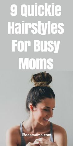 Doing your hair doesn't have to take very long. In fact, it could take less than 5 minutes to create a cute look on top of that beautiful head. If you're in the usual ponytail rut, try some of these fast, yet cute hairstyles!