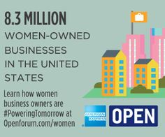 The State of Women-Owned Businesses [INFOGRAPHIC]  #poweringtomorrow