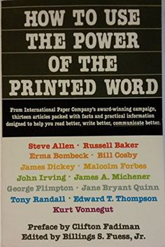 How to Use the Power of the Printed Word by Malcolm Forbes…