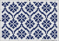 Nice to be done in double knitting Tapestry Crochet Patterns, Fair Isle Knitting Patterns, Knitting Charts, Weaving Patterns, Knitting Stitches, Knitting Designs, Sock Knitting, Knitting Tutorials, Vintage Knitting