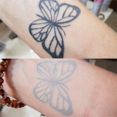 Simple Black Tattoos Tattoo of a simple black 3d Tattoos, Flower Tattoos, Simple Black Tattoos, Free Black, Sheds, Butterfly, Artist, Flowers, Backyard Sheds