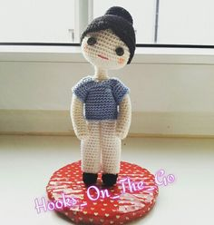 My version of amigurumi nurse