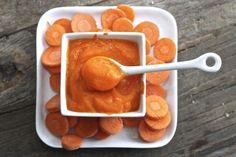 pure de zanahoria y nuez moscada