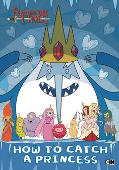 'How to catch a princess'. Libro donde el Rey Hielo da sus consejos para capturar princesas. =__o  #Horadeaventuras