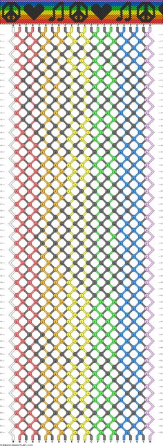 22 strings, 8 colors, 62 rows  love music :)