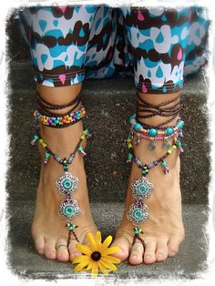Hey, I found this really awesome Etsy listing at http://www.etsy.com/listing/156290176/gypsy-summer-barefoot-sandals-soleless