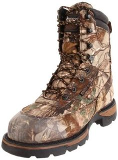 "Men's Rocky LONG RANGE 8.5"" WP Insulated Hunting Boots Rocky. $145.79. 6.0mm aggressive lug depth is ideal for tackling rugged hunting and trekking terrains while releasing mud along the way. Non-slip center lugs provide extra traction in all conditions. Cordura. Long Range Welt features the most durable welt material and welt-tooutsole stitch for long range hard working applications. Outsole lug depth differs per need for maximum performance when and where you need it. Shaft m..."