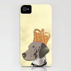 Indira Albert German Shorthaired Pointer Case For Iphone ($42) ❤ liked on Polyvore featuring accessories and tech accessories