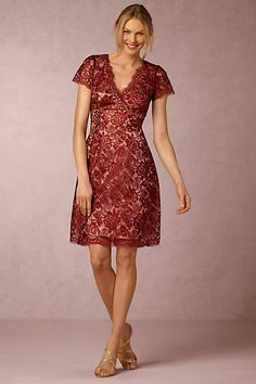 Elaine Dress #anthropologie. Would love to try something similar