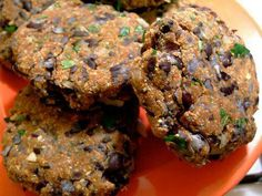 Juice pulp black bean burgers