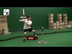 Baseball Hitting Drill: Stop Drop Fire - YouTube