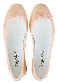 Repetto nude/blush ballet flat
