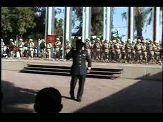 """Magistral Declamación de Militar de: """"México creo en tí"""" en ceremonia a ..."""