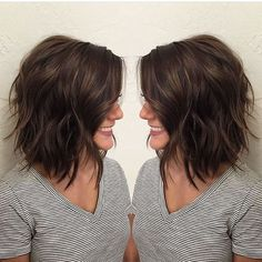 Shoulder Length Layered Bob Haircuts