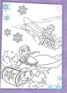 Disney Coloring Sheets, Frozen Coloring Pages, Coloring Book Pages, Printable Coloring Pages, Pinterest Diy Crafts, Princesas Disney, Coloring Pages For Kids, Disney Frozen, Line Art