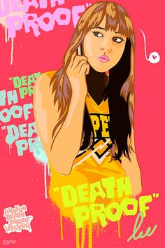Death Proof-Inspired Art