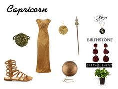 """""""Capricorn"""" by destiny-demon on Polyvore featuring Boskke, Annoushka, Studio Silver, Authentics and Almost Famous"""
