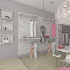 New clothes store design ideas boutiques Ideas Clothing Store Displays, Clothing Store Design, Boutique Interior Design, Boutique Decor, Clothing Boutique Interior, Store Layout, Store Interiors, Retail Design, Interior Decorating