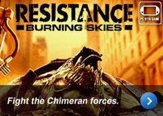 Resistance Burning Skies | Fight the Chimeran forces.