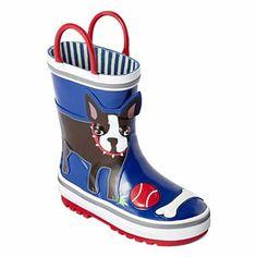 Boston Terrier Joe Fresh™ Toddler Rainboots Shoe - JCPenney