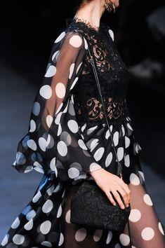 Dolce & Gabbana Spring 2014 * Details