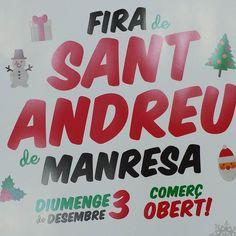 Estem de Fira!!! Podeu gaudir d'un 20%de descompte en tots els articles!!! Demà diumenge tindrem obert de 11 a 13.30h. Bona Fira de Sant Andreu a tothom #nins#ninsmanresa #modainfantil#moda#instadaily #instalike#instagood #pictureoftheday #ootd #ootdkids #manresa #ciutat #fira #tradicions #winter #cold #regals #santandreu #discount #christmas
