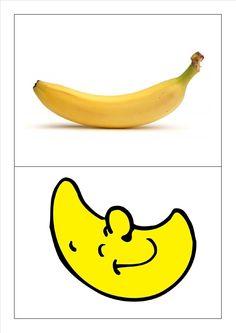 Kringspel rijmen: maan - banaan