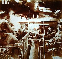 WW1, Interior of a tank. -http://mipierru.perso.neuf.fr
