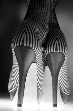 Fish-tights and Stripes!