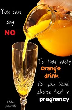 Is that orange drink too much sugar for a pregnant woman? Heck yeah! There are many alternatives to the glucose drink for gestational diabetes testing...read to find out what they are.