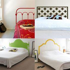Oda a la cama: cabeceras