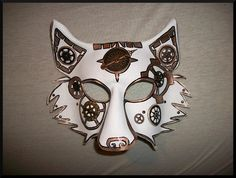Arctic Gear Leather Wolf Mask by Jedi-With-Wings.deviantart.com on @deviantART