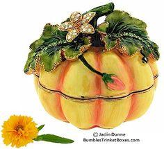Trinket Box: Pumpkin