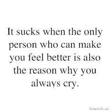 One of the hardest lessons I had to learn, was how to make myself feel better instead of asking for help from the same person that made me hurt to begin with ... True Quotes, Best Quotes, Favorite Quotes, It Hurts Quotes, Words Can Hurt Quotes, Life Sucks Quotes, Tears Quotes, Sad Quotes That Make You Cry, Quotes Quotes