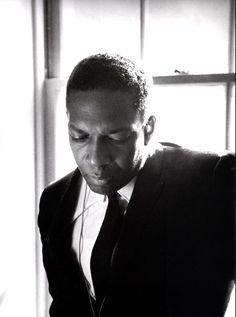 John Coltrane Backstage at Stanford University, California, 1966