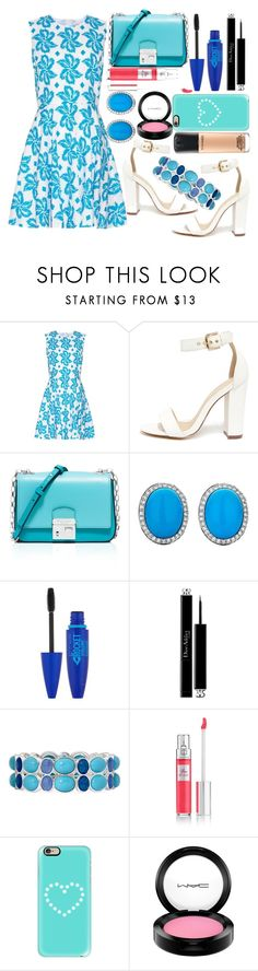 """""""Carmen Suleiman: Mahy Sahla!!! Please Read the description!!!"""" by aphrodite-shomaly ❤ liked on Polyvore featuring Diane Von Furstenberg, Liliana, Michael Kors, Maybelline, Christian Dior, Liz Claiborne, Lancôme, Casetify, MAC Cosmetics and country"""