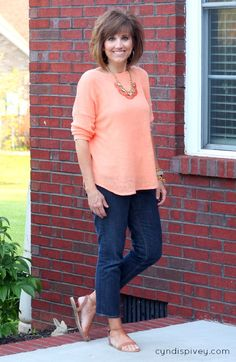 What I Wore-Fashion For Women Over 40 - Grace & Beauty