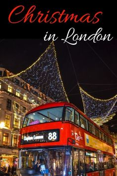 Looking to see London at Christmas? From Christmas Markets in London to Christmas Lights in London, Christmas tea in London and more, here are my top picks to experience the magic of London at Christmas. London Christmas, Christmas Travel, Christmas Markets, Christmas Christmas, Holiday Travel, Eurotrip, London What To See, Things To Do In London, Europe Travel Tips