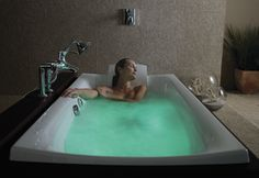 Chromatherapy uses the soothing qualities of color to let your mind and body relax
