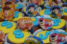 Helen Fernandes - Bolos Artísticos: Toy Story - Bolo Woody !