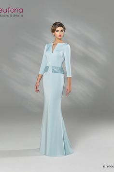 E 19006 - Architekt. Mother Of Bride Outfits, Mother Of Groom Dresses, Mothers Dresses, Mother Of The Bride, Elegant Dresses, Formal Dresses, Going Out Outfits, African Print Fashion, Bridesmaid Dresses