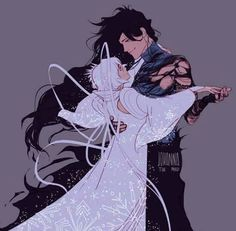 Ichigo and Rukia. Dance With Snow White ❤