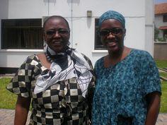 Stella Mpanda and Tausi Suedi